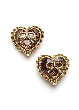 Large Heart Stud Earrings Betsey Johnson Earrings1 Jpg
