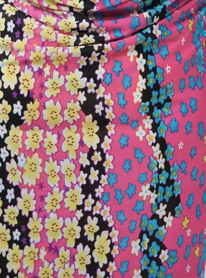 b4efad1b3250f Trendy Floral Open Back Beach Cover-Up Dress