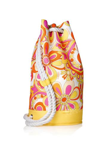 Beach Rope Duffle Backpack Bag