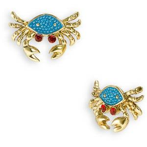 Custom Made Pendants Betsey Johnson Mermaidtale Crab Earrings