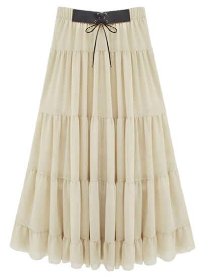 Bohemian Boho-Chic skirt Chiffon Skirt
