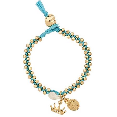 disney couture ariel coin charm bracelet