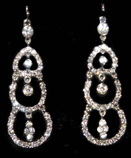 Dangle Sparkly Earrings1 Jpg