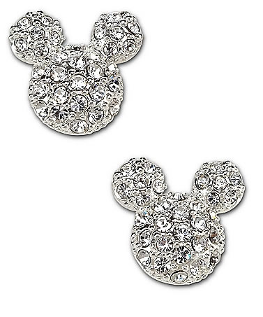 Mickey Mouse Stud Earrings Disney Couture Studded Earrings1 Jpg