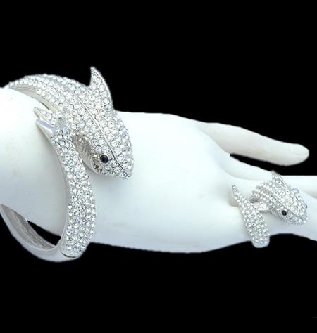 Fabulous Shark Bracelet Ring Set1 Jpg