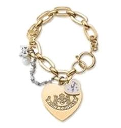 Couture Juicy Bow Love Charm Bracelet Let Them Eat Jpg