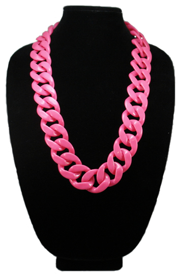Neon Pink Long Shelby Necklace Shop Your Way Online
