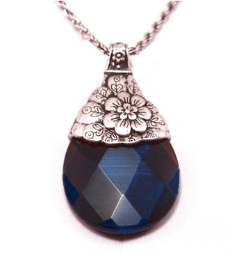 Lucky brand blue stone pendant necklace luckybrandbluestonependantnecklace1g aloadofball Choice Image