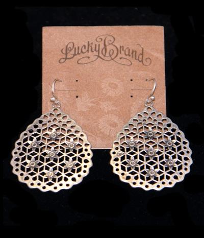 Lucky Brand Flower Drop Earrings1 Jpg