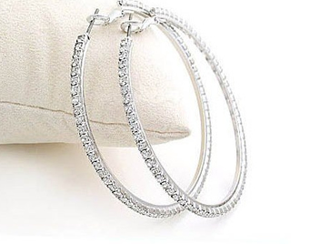 Stock Rhinestone Hoop Earrings Earrings2 Jpg