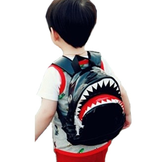 Shark Backpack in black