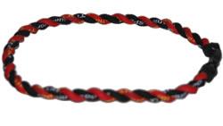 2 Rope Tornado Titanium Necklace 22