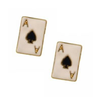Ace of Spade Earrings