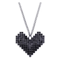 BCBGeneration Heart Pendant Necklace