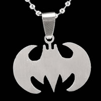 Batman Silver Pendant Necklace