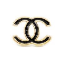 Double-C-Gold-Tone-Black-Earrings-0.jpg