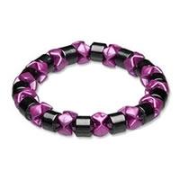 Hematite_Pink_Black_Pearl_Magnetic_Stretch_Bracelet0.jpg