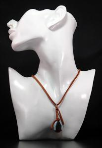 Hippie Chic Trendy Brown Nugget Choker Necklace