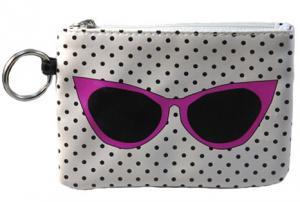 Key Purse Pink Sunglasses