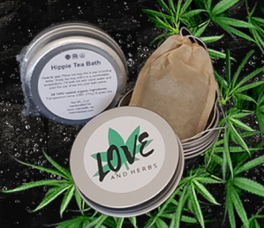 Handcrafted full-spectrum HempCare by Love and Herbs.