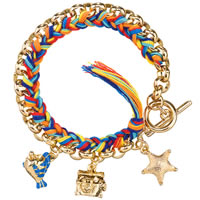 Disney Couture The Little Mermaid Toggle Charm Bracelet