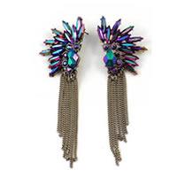 Dazzling Tassel Earrings