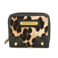 Juicy Couture Leopard Velour Wallet
