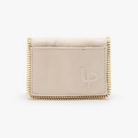 Linea Pelle Dylan Card Case In Sand