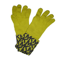 MICHAEL Michael Kors Lemon 'MK' Gloves