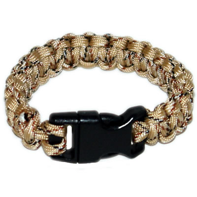 Camouflage  paracord bracelet