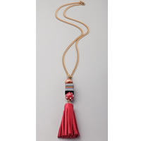 Juicy Couture Tassel Necklace