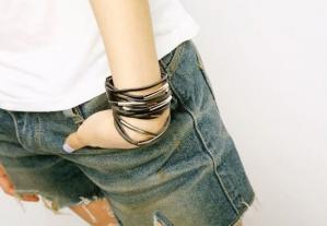 13 Layers Leather Cuff Bracelet