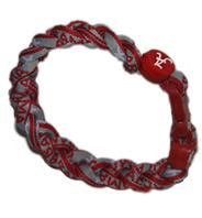 3 Rope Titanium Tornado Bracelet (Alabama Crimson Tide)