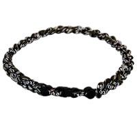 3 Rope Tornado Titanium Necklace (Black Camo)