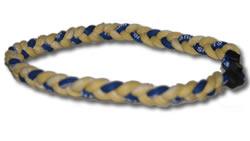 3 Rope Tornado Titanium Necklace (GA Tech Fan)