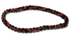 3 Rope Tornado Titanium Necklace 18
