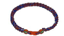 3 Rope Tornado Titanium Necklace (Florida Gators)