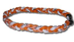 3 Rope Tornado Titanium Necklace (TN VOLS Fan)