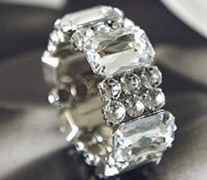 Acrylic Gemstone Bracelet
