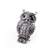 Adjustable Owl Ring