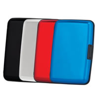 Aluminum Wallet - RFID Blocking Case