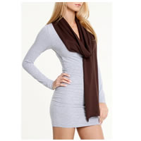 American Apparel Scarf in Brown