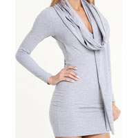 American Apparel Scarf in Heather Gray
