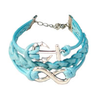 Anchor & Infinity Braided Bracelet