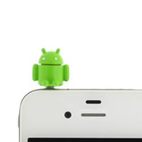 Anti-Dust Plug for Phone Android Robot