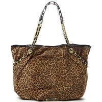 BETSEY JOHNSON Cheetah Babe Tote