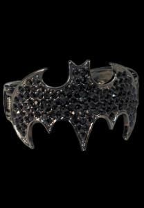 Batman Cuff Rhinestone Bracelet