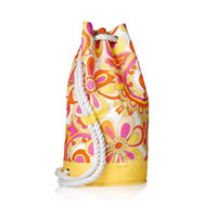 Beach Rope Duffle Backpack Bag