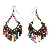 Bohemian Chandelier Earrings Multi-Color