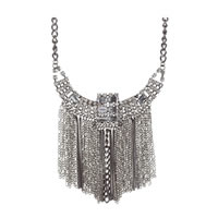 Chloe and Theodora Stella Drop Necklace